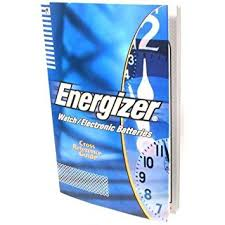 Cr2032 Battery Cross Reference Chart Energizer Watch Battery Cross Reference Guide Tool Book