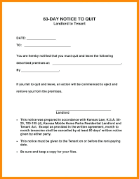 Notice To Vacate Apartment Template Printable Sample Day
