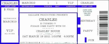 Concert Tickets Template Free Luxury Concert Ticket Template Free