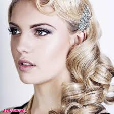 great gatsby 20s style hair and makeup