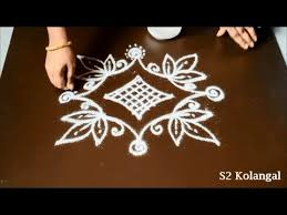 Small Picture Easy kolam design with 5 5 dots small rangoli designs with dots