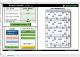 Calendrier Excel Calendrier Excel 2017 Compter
