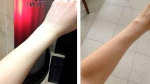 Clear Light Spray Tan My First Spray Tan Experience Pale Gal Goes Tan