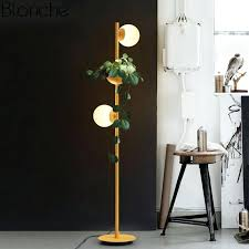 floor lamps modern modern glass ball led floor lamps plant standing light fixtures bedroom bedside lamp floor lamps