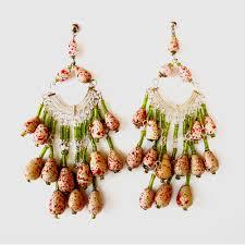 chandelier glass earring 0142 fast delivery ready stock earrings