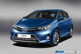 toyota new car release in india2013 Toyota Auris Gives A Sneak Into Upcoming Corolla