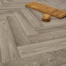 ecostep herringbone grey 906 cushioned vinyl flooring