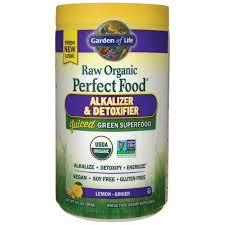 garden of liferaw organic perfect food alkalizer detoxifier