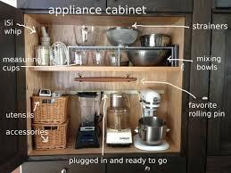 Small Picture Best 20 Kitchen appliance storage ideas on Pinterest Appliance