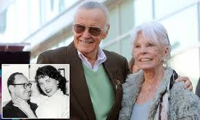 Marvel Comics legend Stan Lee\u0027s wife Joan dies at 93 | Daily Mail ...
