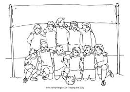 Small Picture Outstanding Soccer Team Coloring Pages 6 Soccer Colouring Pages