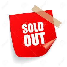 Risultati immagini per sold out