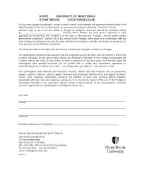 50 Free Location Release Forms For Film Documentary Video