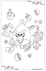 20 Nieuwe Angry Birds Kleurplaat Win Charles