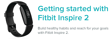 how do i get started with fitbit inspire 2