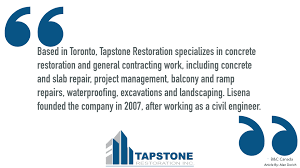about our company tapstone restoration inc