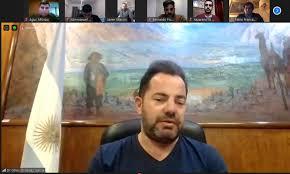 El olavarriense, Agustín Alfonzo, participó de una reunión con el Jefe de  Gabinete del Ministerio de Salud Lisandro Bonelli - Olavarría Noticias