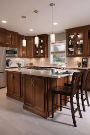 Shenandoah Cabinetry Kitchen In Dominion Cherry Chocolate Kitchens