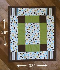 How To Make A Baby Quilt - So Sew Easy & finished quilt measurements Adamdwight.com