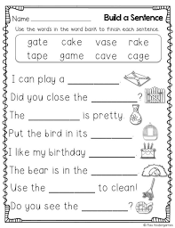 Reading and worksheets for phonics. Extraordinary Free Worksheets For 1st Grade Phonics Jaimie Bleck