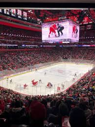 Detroit Red Wings Stadium Seating Chart Little Caesars Arena Section 101 Home Of Detroit Pistons