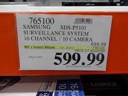 surveillance camera costco. Fine Costco Samsung 16 Channel 10 Camera Surveillance System Costco 1 For C