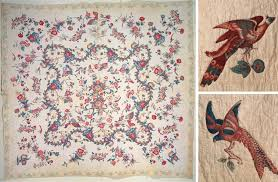 """The History of The American Quilt: 17th and 18th Century - Pattern ... & *images (Clockwise): """"Broderie Perse Quilt,"""" """"Broderie Perse Fragments"""" Adamdwight.com"""