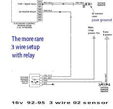 testing oxygen sensor bosch 4 wire universal o2 sensor instructions at 4 Wire Oxygen Sensor Wiring Diagram