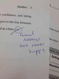 formal essays funny formal essays