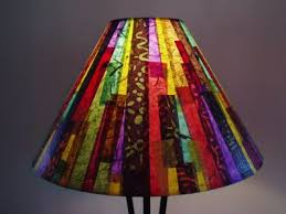 Colorful Antique Hanging Lamp Shade Picture