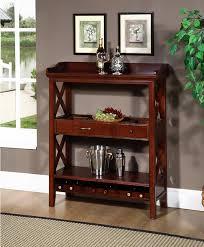 hr48 wooden wine rack