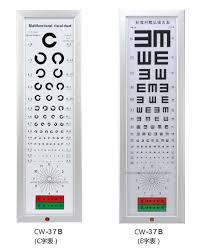 Visual Chart Hot Item Led Visual Chart Eye Testing Ophthalmic Eequiment C E Chart