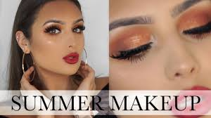 affordable summer evening makeup tutorial