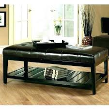 faux leather ottoman coffee table faux leather ottoman coffee table leather coffee tables ottoman leather coffee