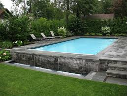 home swimming pools above ground.  Swimming Waterfall Effect In Home Swimming Pools Above Ground E