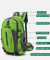Light Waterproof Backpack Amazon Com Dejh Large Capacity Lightweight Waterproof