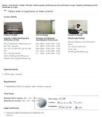 Letter Of Origin Obtain Letter Of Registration Of Sales Contract