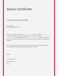 Sample Format Of Employment Certificate With Compensation 21