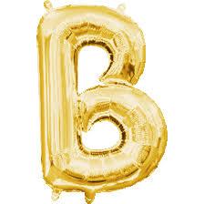 mini gold letter b balloon mini gold mylar letter balloon 8 224 300 c=2