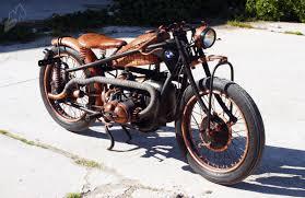 hugo s leather and copper bmw r51 3 bobber bikermetric