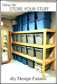 shelves for garage hanging wood overhead shelving diy gara