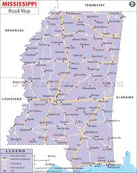 buy mississippi road map