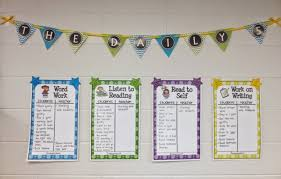 Daily 5 Anchor Charts 2nd Grade Setting Up For Second The Daily 5 In 2nd Grade