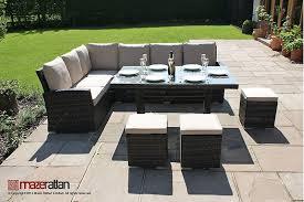 maze rattan winchester kingston corner dining set. stunning kingston corner sofa dining set with small home decoration ideas maze rattan winchester o