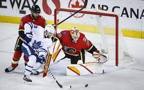 The leafs are currently 4 and 2 vs calgary this season. A Little Luck Propels Toronto Maple Leafs To 3 2 Win Over Calgary Flames Flin Flon Reminder