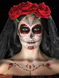 day of the dead makeup tattoo kit halloween