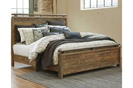 Sommerford Queen Panel Bed | Ashley Furniture HomeStore