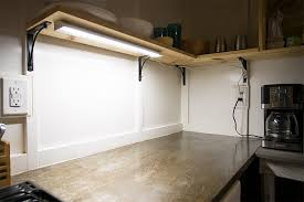 dimmable under cabinet led lighting fixture w rocker switch in counter led lights plan 2