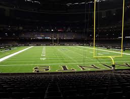 Saints Superdome Virtual Seating Chart Mercedes Benz Superdome Section 101 Seat Views Seatgeek