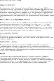 retainer consulting agreement request for proposals professional consultant retainer